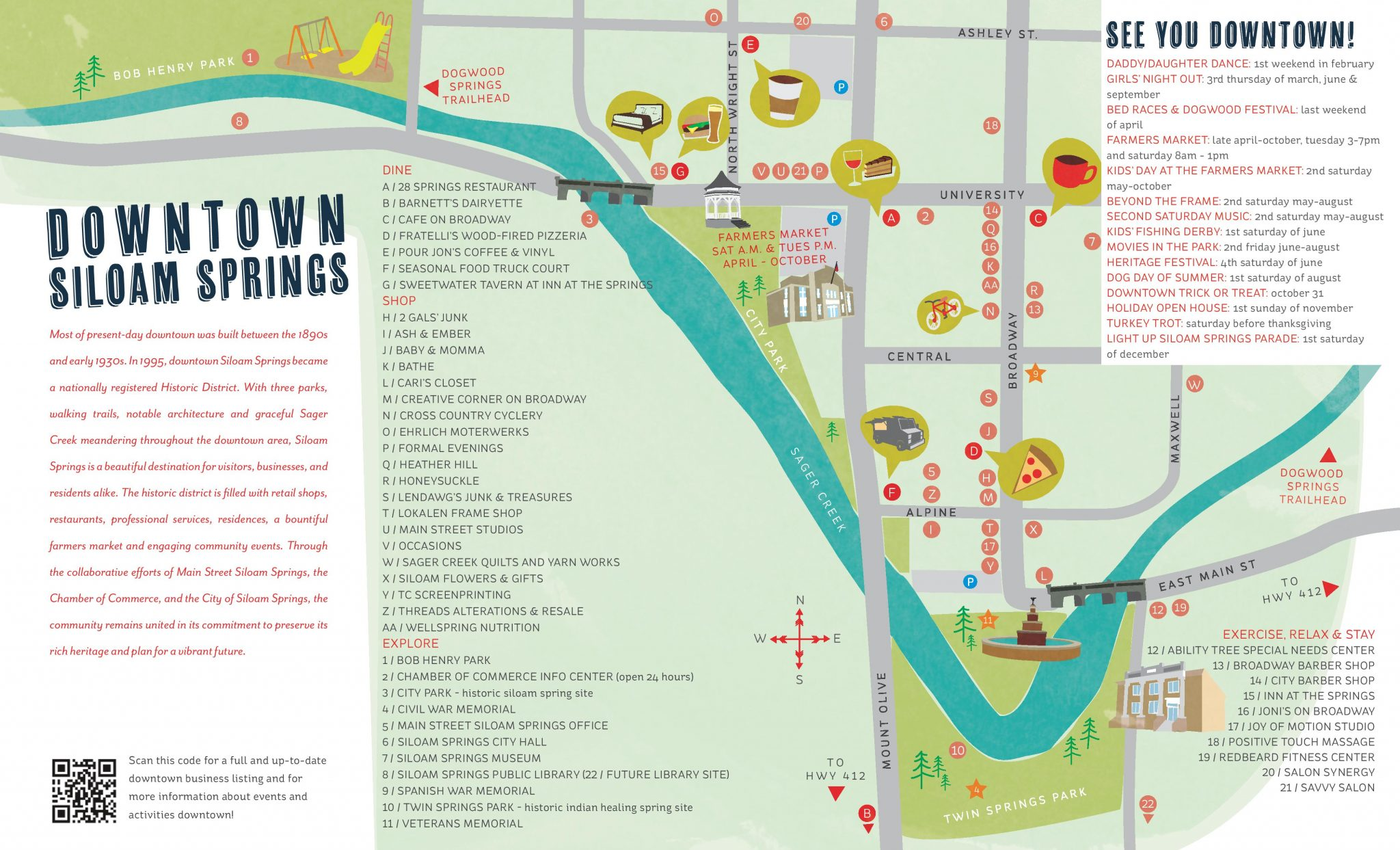 2016 Siloam Springs Brochure
