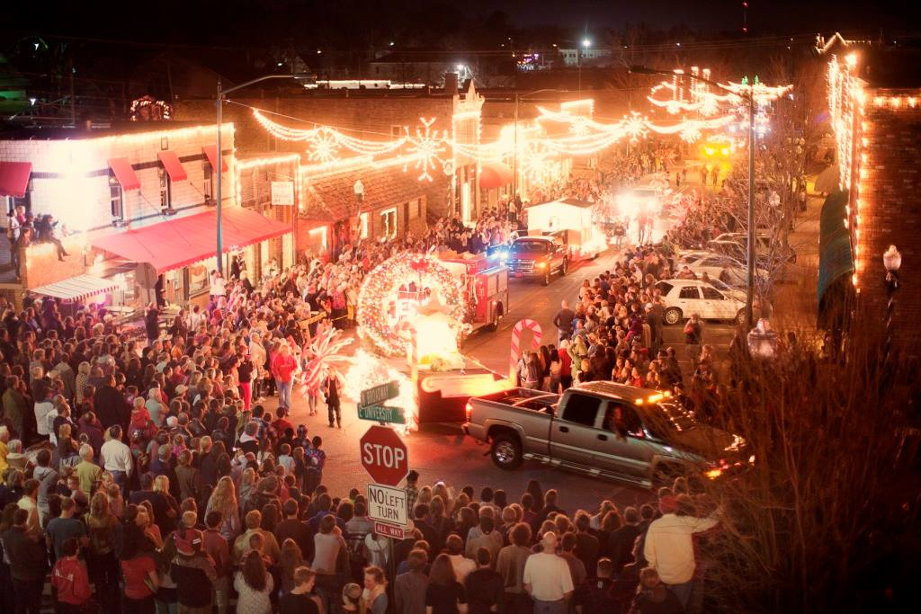 Light Up Siloam | Main Street Siloam Springs